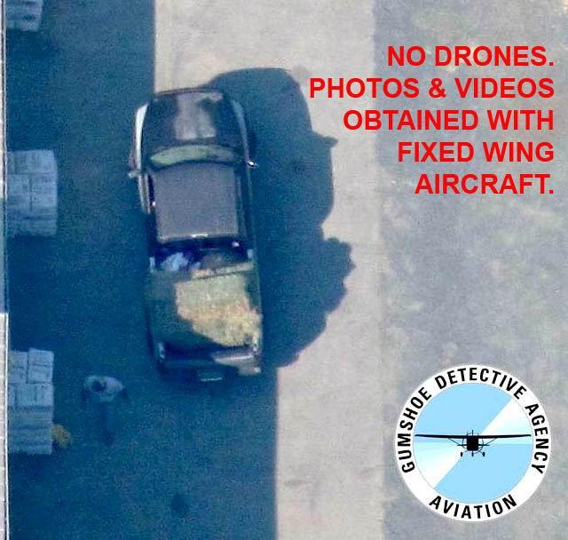 aerial surveillance gumshoe detective agency