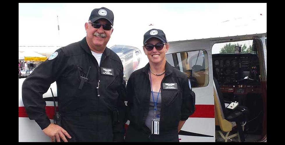 Air Crew at Air Show
